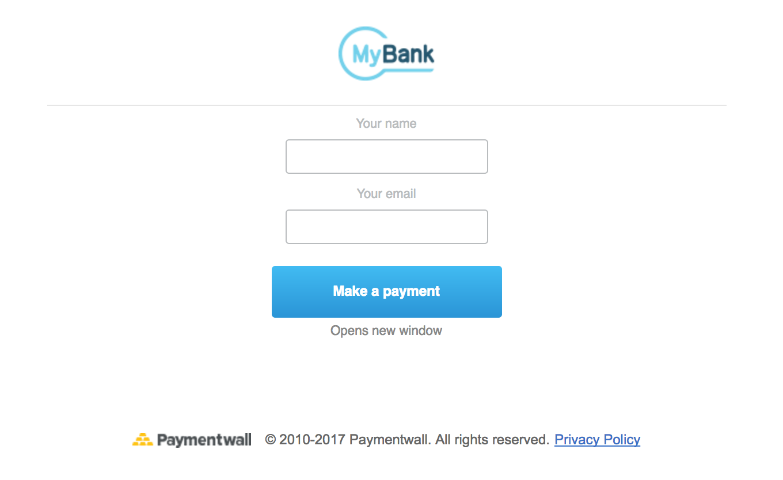 MyBank preset