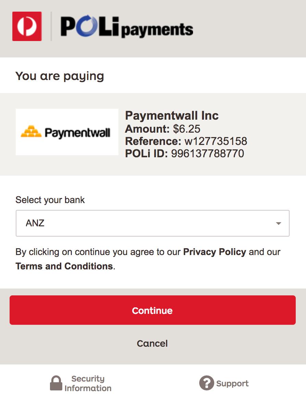 Poli Payment Method